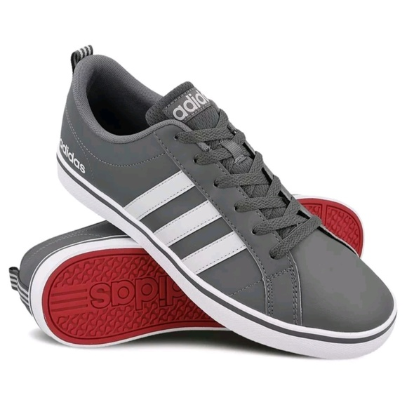 NWT Adidas Neo VS Pace Shoes Gray B74316 SIZE 9